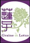Logo graine de lotus, Qi Gong et Shiatsu à Troyes