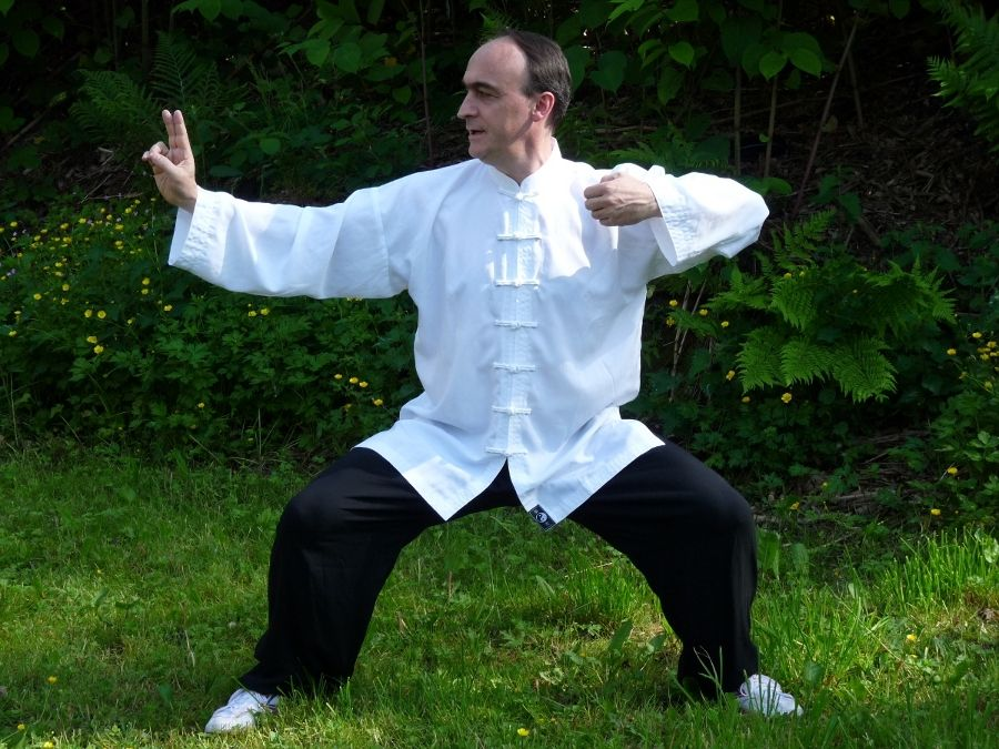 Bruno Rogissard, enseignant le Qi Gong